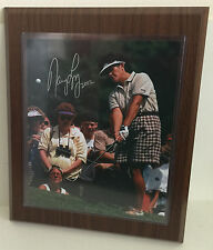 "Nancy Lopez Golf Autograph 2002 Framed LPGA Hall of Fame Golfer w/ COA 11""x13.5"""