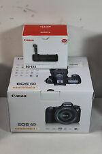 Canon EOS 6D Digital SLR Camera w/ EF 24-105 1:4 L IS USM Lens & BG-E13 Grip