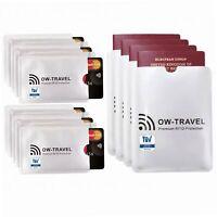 ✅ TÜV geprüfte RFID Schutzhülle Kreditkarten - 100% Schutz - NFC...