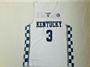 Bam Adebayo #3 Jersey Kentucky Wildcats Throwback Basketball Basketball Team