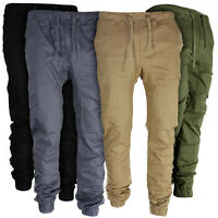 Mens Sport Trousers Cargo Sweatpants Pants Workout Gym Joggers Running Slacks