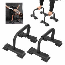 Push Up Bars 2 Pcs Stands Pair Parallettes Handles Pushup Exercise Home Gym