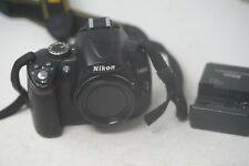 Nikon D5000 DSLR Camera Body, Sold With Battery & Charger - Fully Working