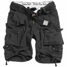 "M 36"" Black Cotton Shorts Pants Raw Surplus  Vintage Combat Army"