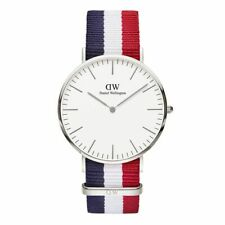 Orologio CLASSIC CAMBRIDGE Cint. Multicolore Daniel Wellington DW00100017 40mm