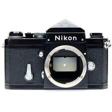 Nikon F Film Camera Body (Black) with Prism Viewfinder