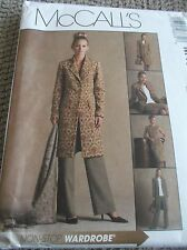 SEWING PATTERN M4663 MISSES PETITE JACKET TOP PANTS SKIRT SIZE 8 TO 14 UNCUT