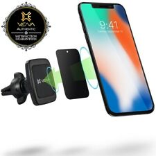 Air Vent Mount Coche Magnético Soporte para teléfono 360 rotar iPhone 11 XR XS Galaxy Pixel