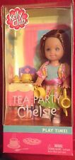 Tea Party Chelsie Play Time Kelly Club Barbie Doll NRFB Rare HTF 2002 Freckles