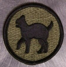 Embroidered Military Patch U S Army 81st Regionall Support Command NEW muted