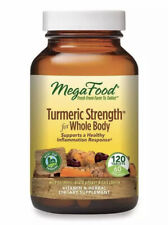 MegaFood Turmeric Strength for Whole Body - Curcumin Absorption - 120 Count