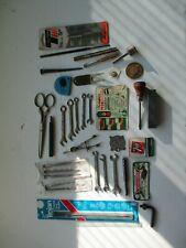 vintage lot 39 Old & Nos Stanley Proto Blackhawk Hinsdale other misc tools