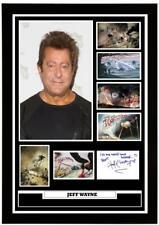 More details for (#193) jeff wayne war of the worlds signed photograph framed/unframed reprint **