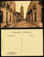 Tarjeta Postal Ciudad Real. Calle de Anselme Andrade. Nº 14. FOTO ROISIN