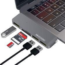Thunderbolt Adapter USB 3.1 Type-C HUB Micro SD/TF Port For MacBook Air Pro