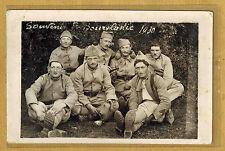 Cpa Carte Photo 38e RI infanterie de Bourg-lastic 1930 m016