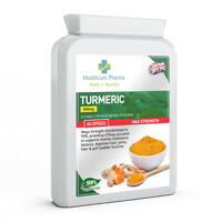 Turmeric and Black Pepper 500mg 60 Targeted Release Capsules 95% Curcumin UK