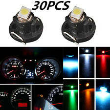 30pcs T4 T4.2 1SMD LED Car Instrument Dash Cluster Gauge Bulbs Lights 5 Colors