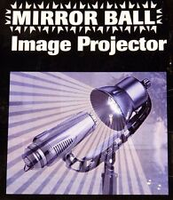 EZ UP Mirror Ball Image Projector  2 2 in 1 Light Show