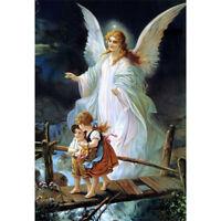 "DIY Diamond painting diamond embroidery angel and child cross stitch Home decor"""