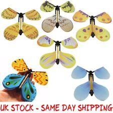 Wholesale Job Lot 100 Magic Flying Butterfly Prank / Card Birthday Xmas Wedding