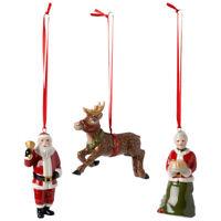 VILLEROY & BOCH Nostalgic Ornaments Nordpol Express Christbaumschmuck 3-teilig