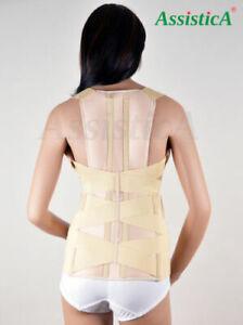 Posture corrector brace beige Shoulder support taylor brace all sizes available