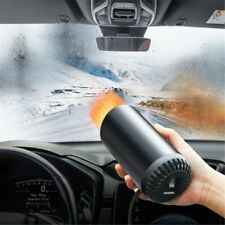 Car Heater Vehicle Heating Cooling Fan Portable Defrosting with Suction holder