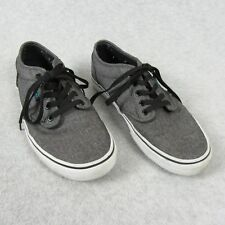 67da964c6ec0 VANS Atwood Gray Natural Canvas Lace Up Sneakers Skate Shoes Mens Shoes