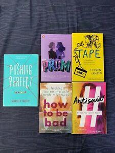 Buchpaket Englische Bücher für Jugendliche 5 Stück Young Adult
