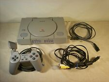 SONY PLAYSTATION SCPH-7501  BUNDLE 4 Games 1 CONTROLLER- Resident Evil- Driver+