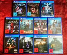 ❗RESIDENT EVIL❗Collection 1 2 3 4 5 6 7 (8) &  Revelations 1+2 Playstation 4 PS4