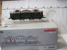 Digital Märklin 39195 HO E Lokomotive BR E 91 100 DB Sou (RG/RK/123-167S7/1)