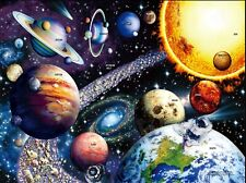 1000 Piece Space Galaxy Color Challenge Entertainment Jigsaw Puzzle For Adults