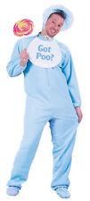 ADULT BABY BOY PJS PAJAMAS BACK FLAP BIB BONNET COSTUME DRESS FW5049B