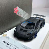1/43 Fuelme LB Works Lamborghini Aventador LP700 2.0 Matt Black Ltd 120 pcs