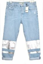 Stonewashed Jeans Size Petite Topshop for Women