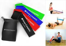 NEW Exercise Resistance Loop Band Premium Fitness Stretch Elastic Physical 4 Set