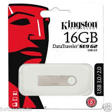 16gb USB 3.0 2.0 Speicher Stick KINGSTON DTSE9G2/16GB Metall Gehäuse SE9 G2