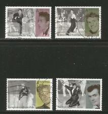 Norway 2009 Rock 'n' Roll Pioneers--Attractive Music Topical (1587-90) fine used
