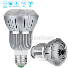 AGPtek HD 1080P Full Hidden WIFI Wireless IP Light Bulb Camera Motion Detection