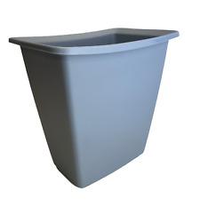 Vtg  Rubbermaid Blue Waste Paper Basket Trash Can 2952