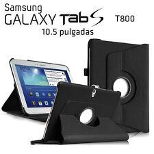 "FUNDA + PROTECTOR TABLET SAMSUNG GALAXY TAB S 10.5"" T800 T805 GIRATORIA NEGRO"