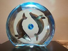 "Wyland ""Humpback Planet"" Lucite Sculpture AP Valued at $7490"