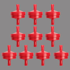 """10pc 1/4"""" Lawn Mower Inline Fuel Filter For Briggs &Stratton 298090 298090S Repl"""