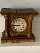 Antique Brass ANSONIA Clock