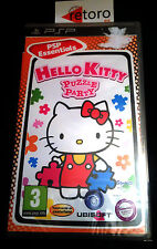 HELLO KITTY PUZLE PARTY Sony PSP PAL Español NUEVO Precintado UBISOFT Sealed