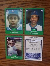 1984 Iowa Cubs ( Joe Carter)