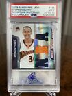 2009 Panini Absolute Stephen Curry /499 Rookie RC Autograph #144 PSA 7 Auto 10