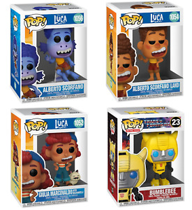 Funko POP Retro & POP Disney Luca Collectible Toy, Different Models-F&F Delivery